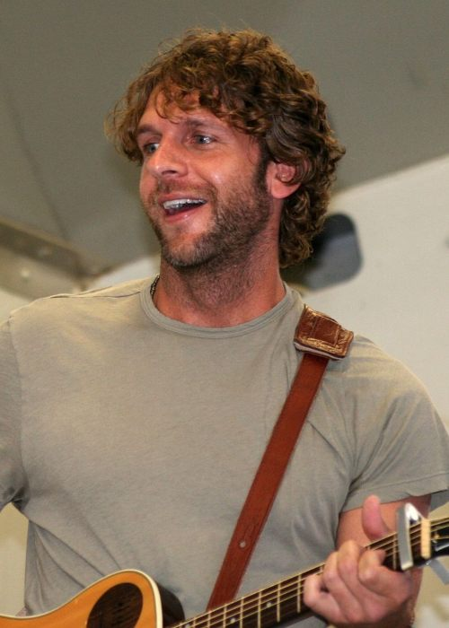Billy Currington during a performance in August 2008
