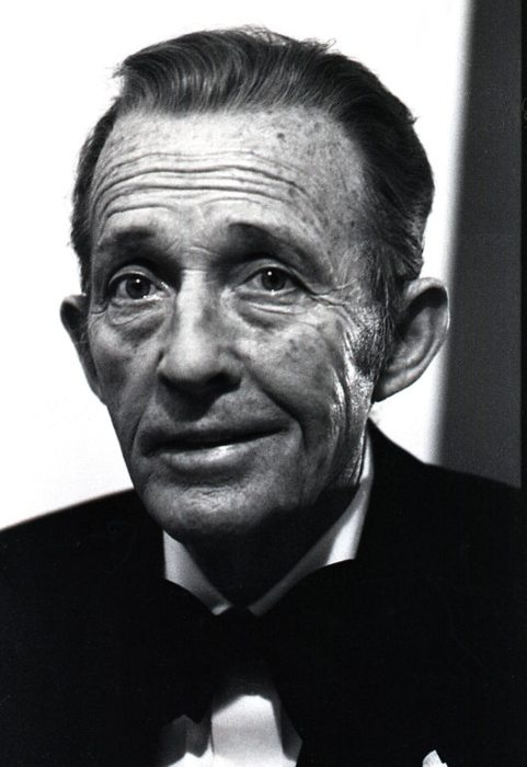 Bing Crosby in his last portrait as seen in 1977