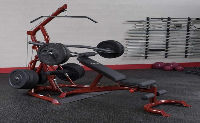 Body Solid GLGS100 Corner Leverage Gym Review