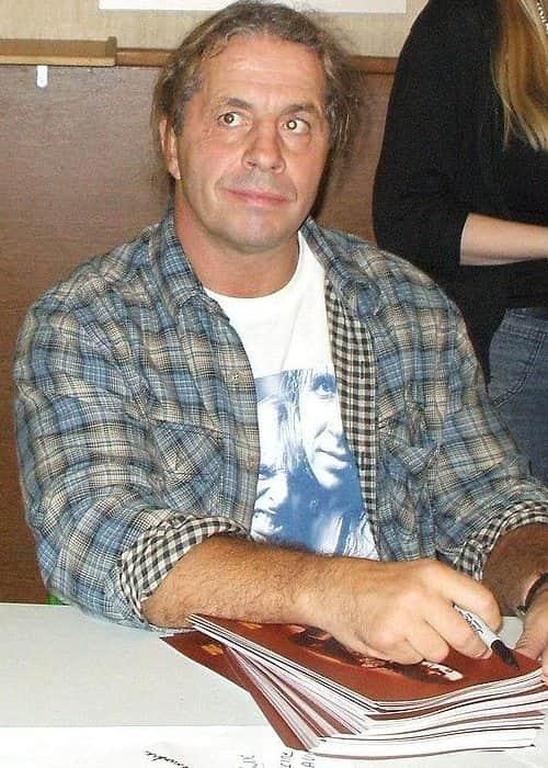 Bret Hart as seen in November 2008