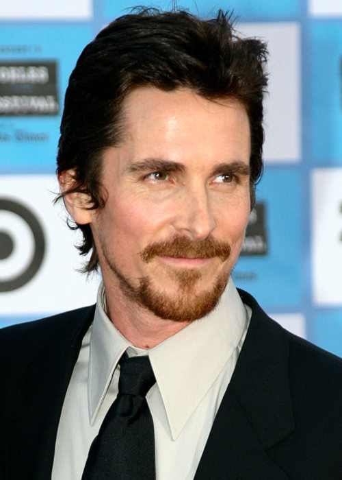 Christian Bale at the red carpet film premiere of Public Enemies at the Mann Village Westwood in June 2009