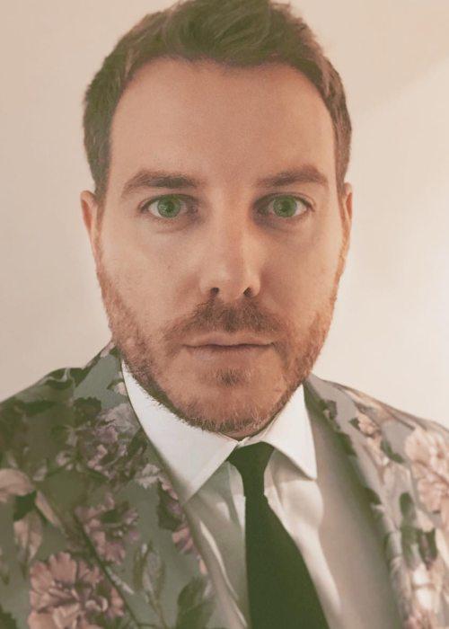 Christian Brassington in an Instagram selfie as seen in March 2019