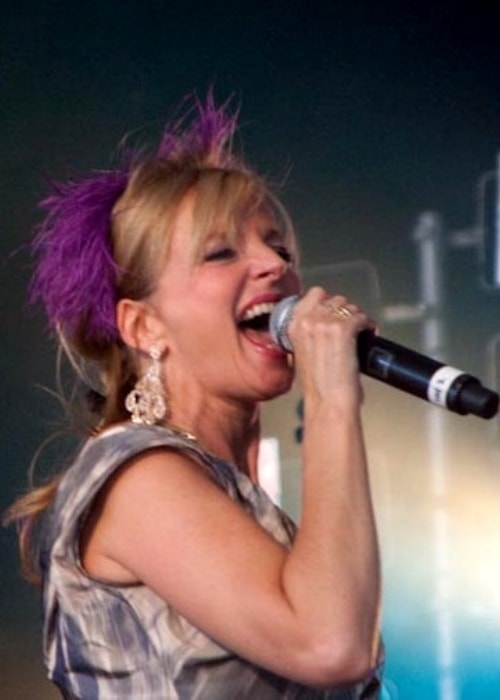 Clare Grogan as seen while performing at Ascot Racecourse located in Ascot, Berkshire, England, United Kingdom in August 2009