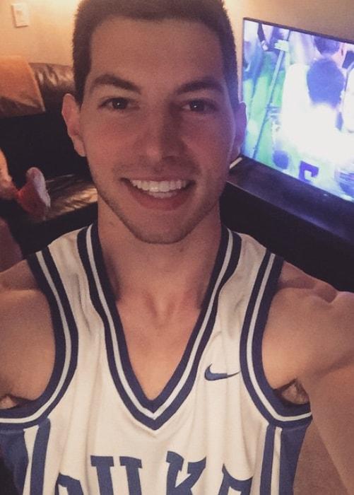 Coby Cotton as seen in a selfie taken in April 2015