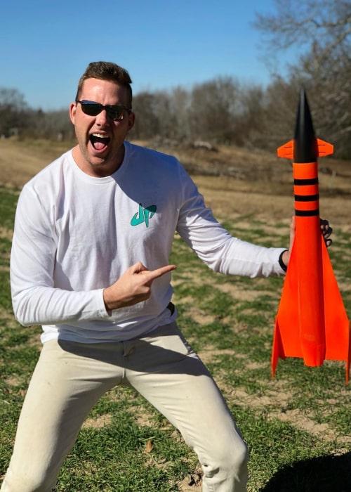 Cody Jones as seen in a picture taken in February 2018