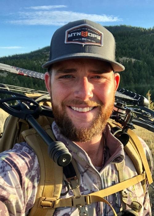 Cody Jones as seen in a selfie taken in March 2019