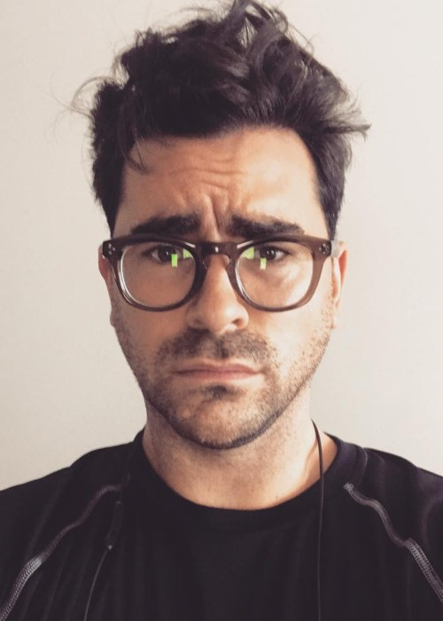 Dan Levy in an Instagram selfie as seen in August 2017