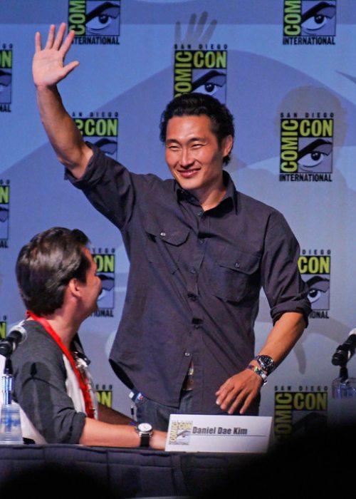 Daniel Dae Kim at San Diego Comic-Con International in July 2010