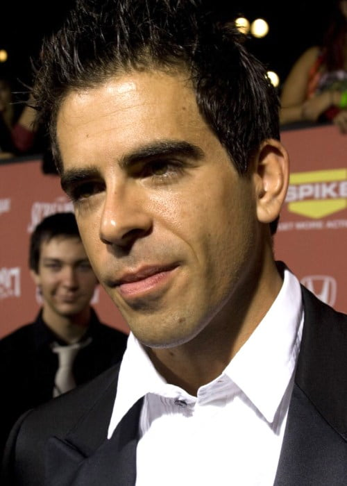 Eli Roth during an event as seen in October 2007