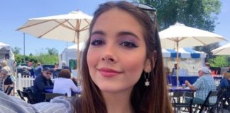 Haley Pullos as seen in May 2019