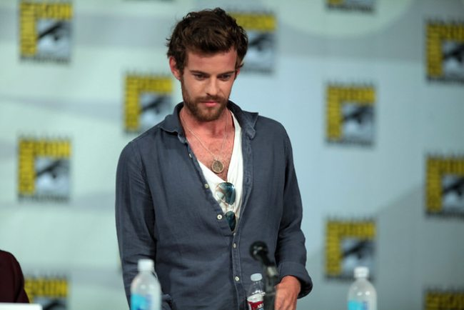 Harry Treadaway at the San Diego Comic Con International as seen in July 2014