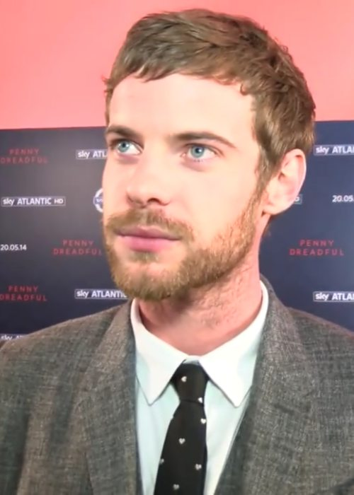 Harry Treadaway during the Penny Dreadful Premiere in May 2014