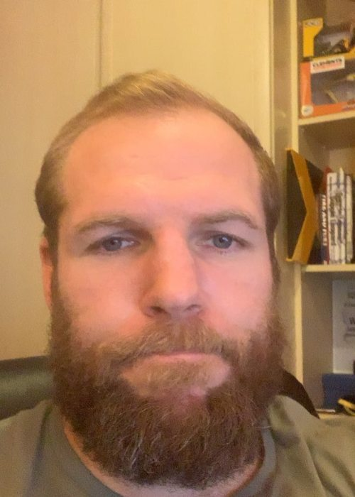 James Haskell in an Instagram selfie as seen in May 2019