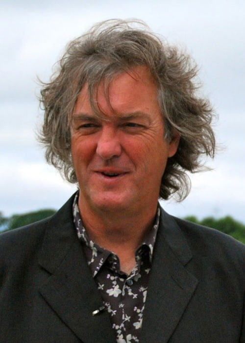 James May being interviewed at Lancaster University in July 2010