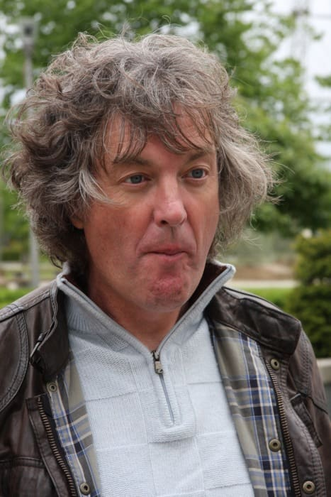 James May during a filming at Farnborough Business Park in July 2010