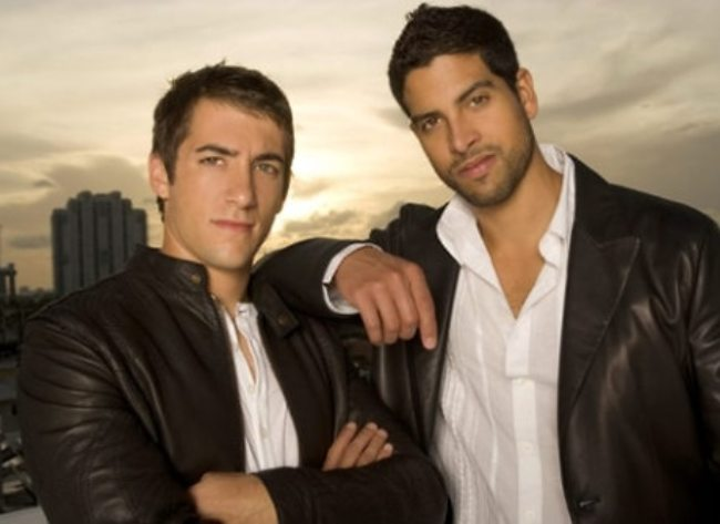 Jonathan Togo and Adam Rodriguez as seen in 2006