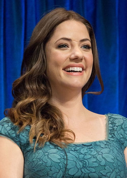 Julie Gonzalo at the PaleyFest in March 2013