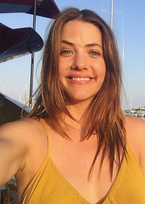 Julie Gonzalo in an Instagram selfie as seen in July 2018