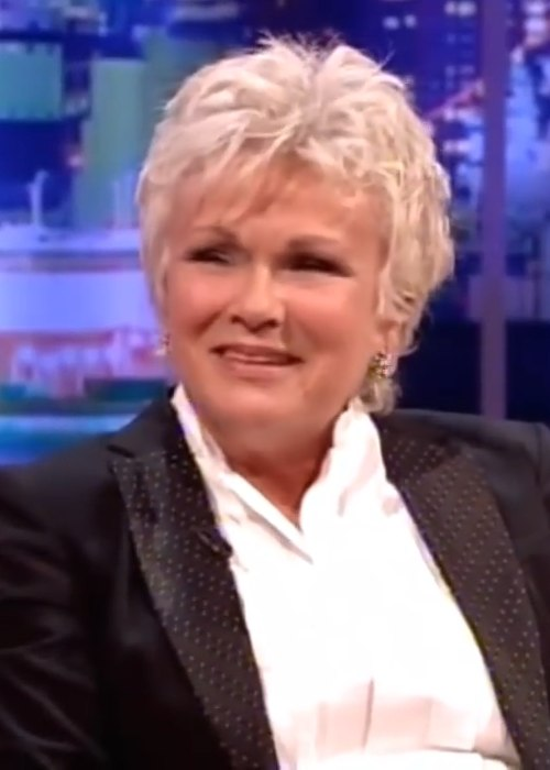 Julie Walters during an interview on the The Jonathan Ross Show in October 2013