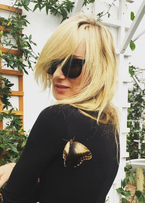 Kimberly Stewart in an Instagram post as seen in May 2016