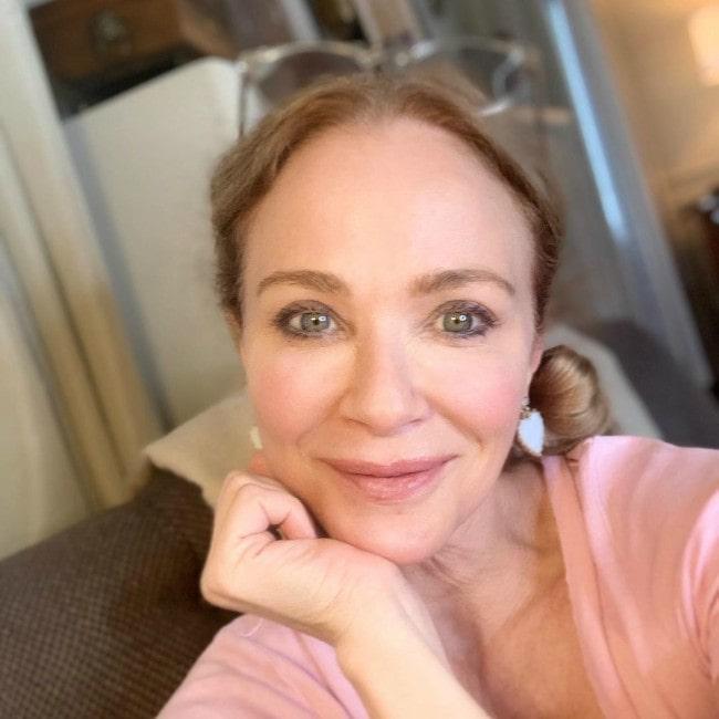 Lauren Holly in an Instagram selfie as seen in July 2020