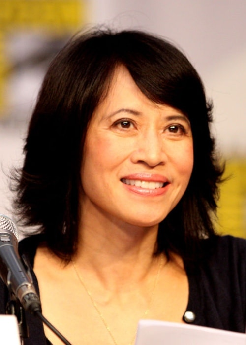 Lauren Tom at the 2010 Comic Con in San Diego
