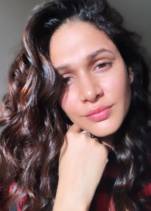 Lavanya Tripathi as seen in a selfie taken in June 2019