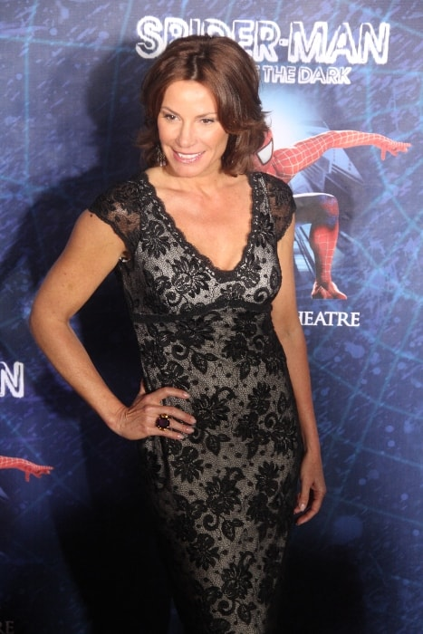 Luann de Lesseps as seen while posing for the camera during an event at Foxwoods Theatre, New York City, New York, United States in June 2011