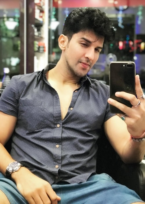 Manish Raisinghan as seen in selfie taken in November 2018