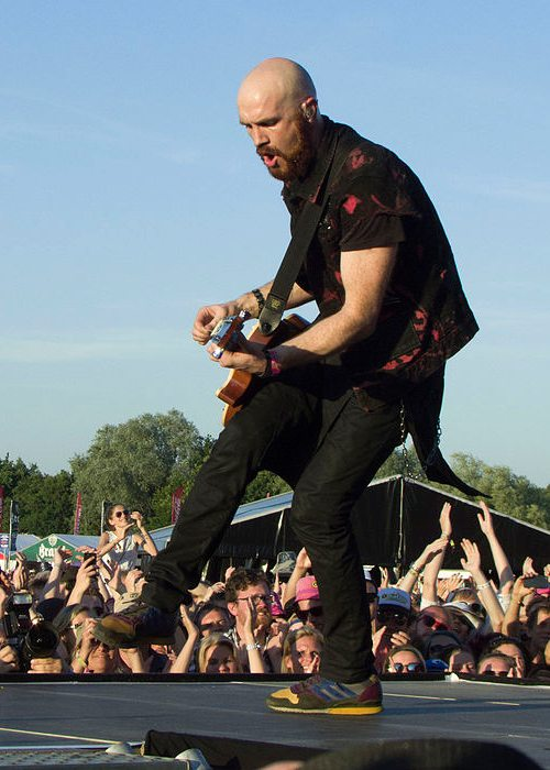 Mark Sheehan at the 2015 Pinkpop Festival