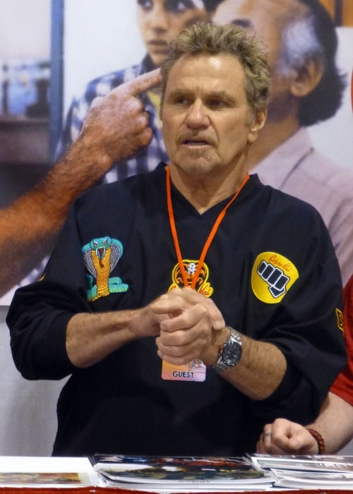 Martin Kove as seen during an event in May 2015
