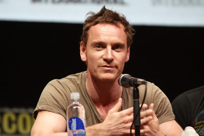 Michael Fassbender speaking at the 2013 San Diego Comic Con International