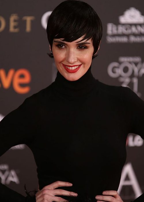 Paz Vega during an event in February 2017