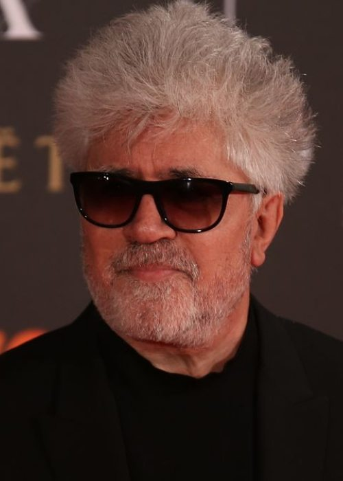 Pedro Almodóvar at Premios Goya in 2017