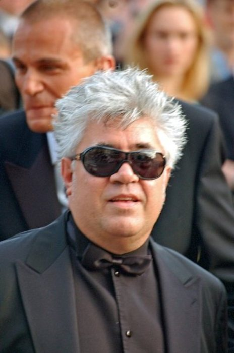 Pedro Almodóvar at the Cannes Film Festival in 2006