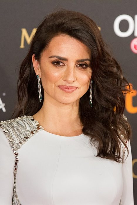 Penelope Cruz at the 32nd Goya Awards in February 2018