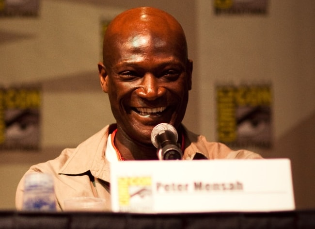 Peter Mensah as seen while speaking at Comic-Con 2009 for the Spartacus Launch in July 2009
