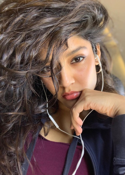 Ritika Singh as seen in a selfie taken in May 2019