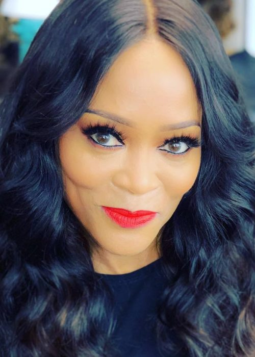 Robin Givens in an Instagram post as seen in April 2019