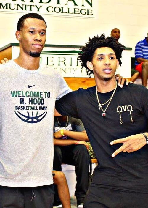 Rodney Hood (Left) and Cameron Payne as seen in August 2016