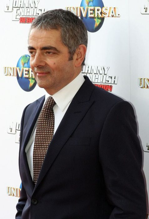 Rowan Atkinson at the premiere for Johnny English Reborn in September 2011
