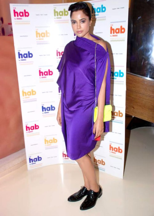 Sameera Reddy at The Hab store launch in May 2012