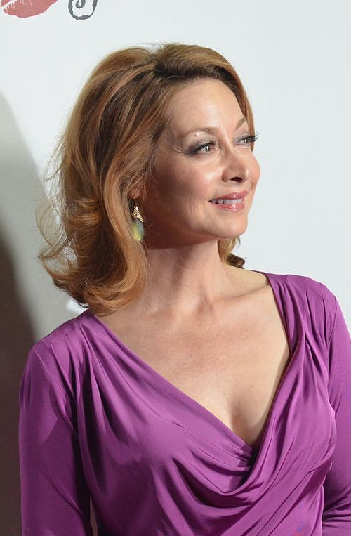 Sharon Lawrence during an event in October 2013