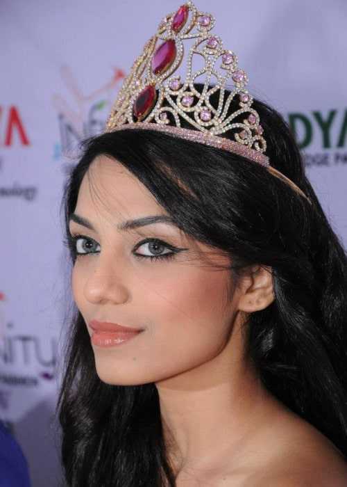 Sobhita Dhulipala as seen in a picture taken at a fashion show in Meerut in May 2013