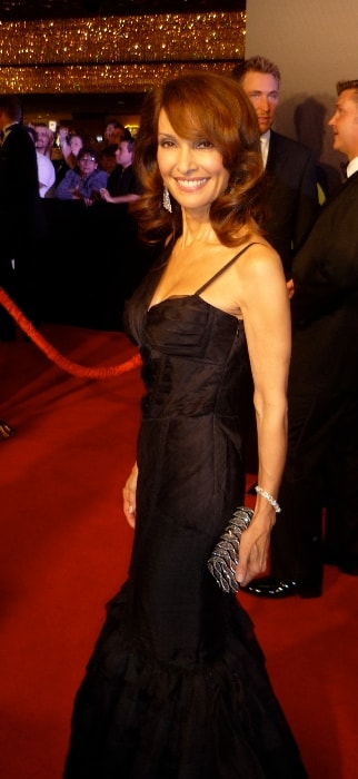 Susan Lucci as seen while posing in a beautiful dress during an event in June 2010