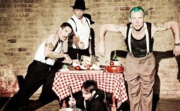 The American band Red Hot Chili Peppers