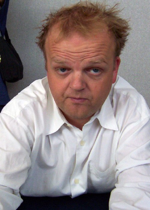 Toby Jones as seen in October 2003