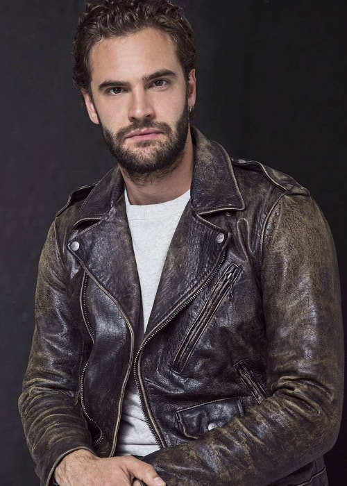 Tom Bateman as seen while posing for the camera