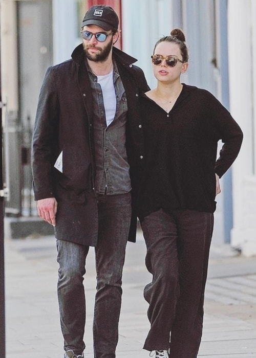 Tom Bateman as seen while walking down the streets with Daisy Ridley