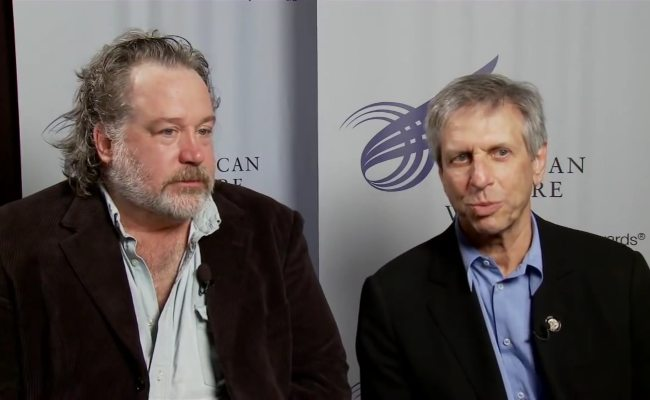 Tom Hulce (Left) and Ira Pittelman during an interview in May 2010